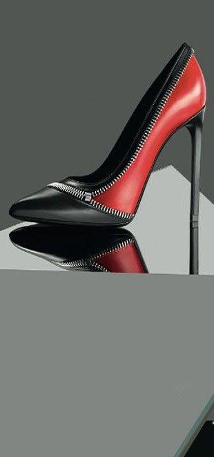 Saint Laurent stilettos #fashion #heels #shoes For luxury custom made shoes visit www.just-ene.com