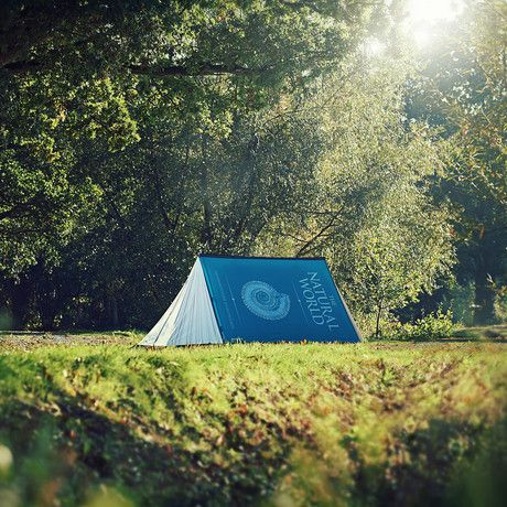 Sleep under a giant book with the whimsical 'Fully Booked' 2-Person Camping Tent. FieldCandy tents not only look great, they are also of exceptional quality, performing to the same high standards as an expedition tent. Made from high quality, dura...