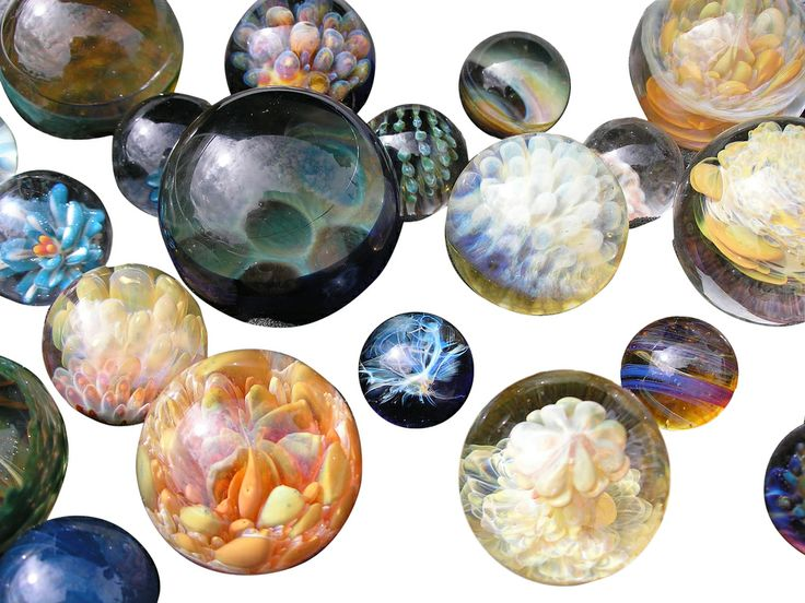 glass orbs by creative flow