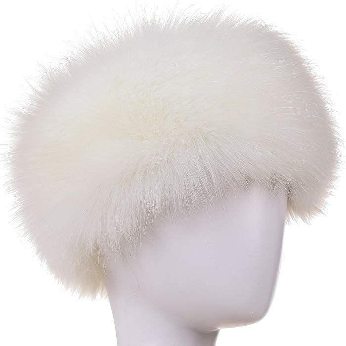 "Faux Fur Headbands Fur Lined Womens Ski Earwarmers Earmuffs Winter Fashion 4/"""