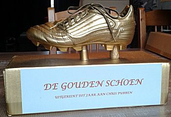 De gouden voetbalschoen surprise