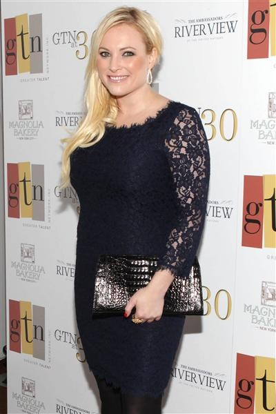 Great photo of Meghan McCain at GTN's 30th anniversary party in May!