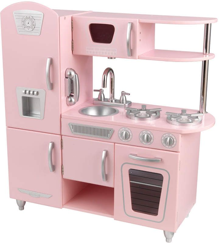 This is so cute. Vintage Kitchen play set. #pretendplay #ad #toys