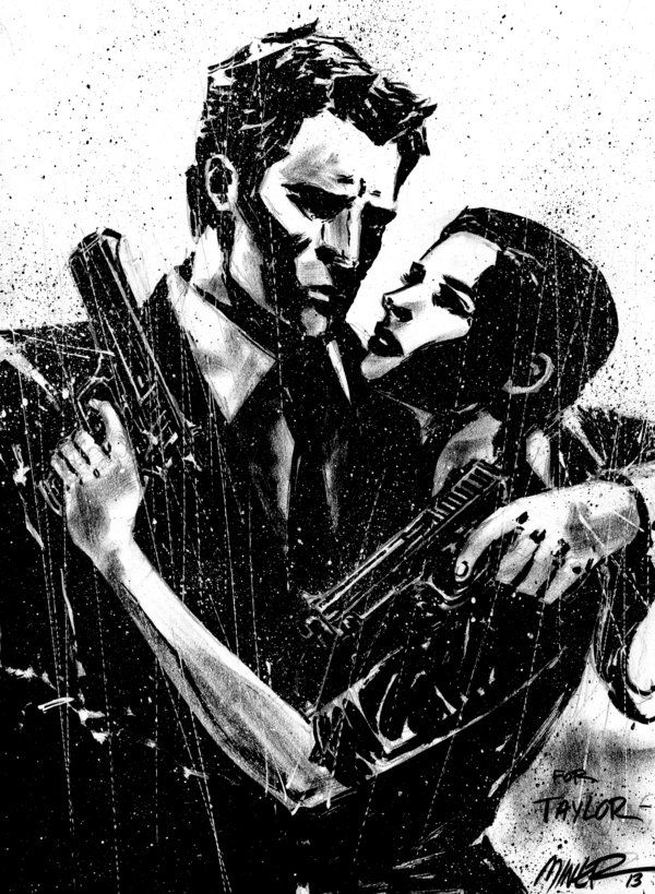 Max Payne Commission by aaronminier on deviantART