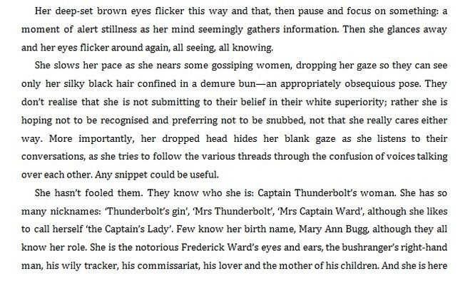 A section about Captain Thunderbolt's lady Mary Ann Bugg (part 2)