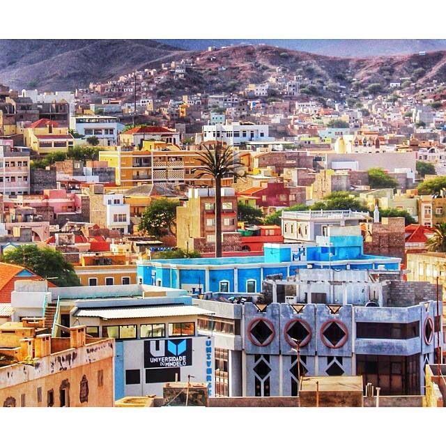 View over Mindelo, island São Vicente, Cape Verde #Kaapverdië - More at https://www.kaapverdie.nl/sao-vicente/