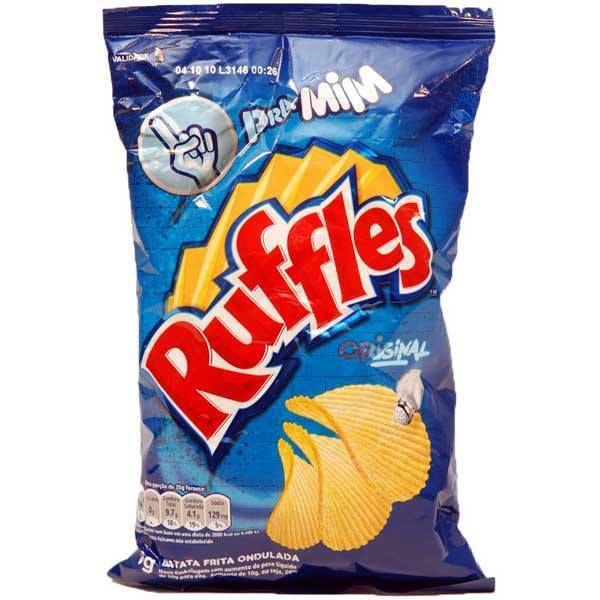 Batata Ruffles Caseira -