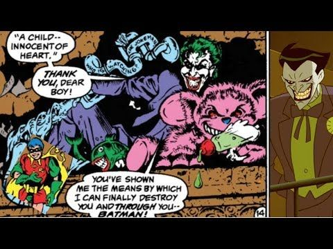 How John Ostrander's Detective Comics #623 (1990) is intertwined with Paul Dini's Batman Beyond: Return of the Joker DTV (2000)