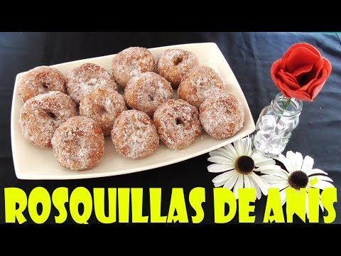 ROSQUILLAS DE ANÍS (TIERNAS Y ESPONJOSAS) - YouTube