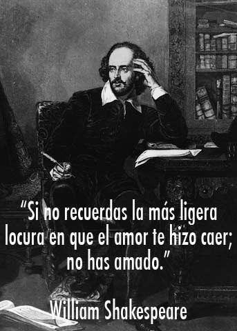 Las 10 frases inolvidables de William Shakespeare