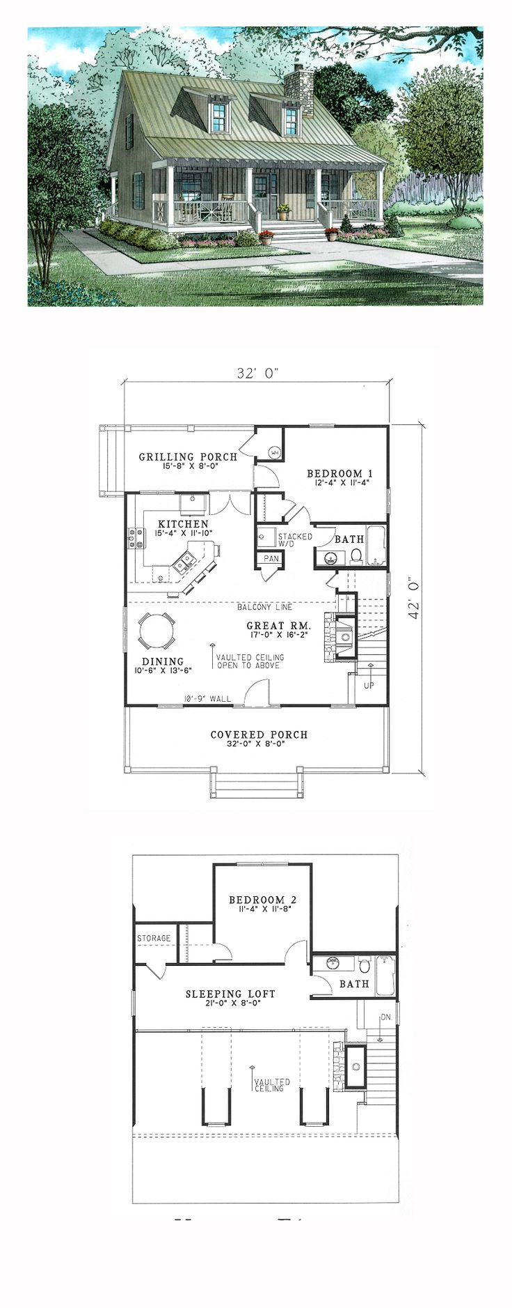 1000+ ideas about Small ountry Houses on Pinterest House plans ... - ^