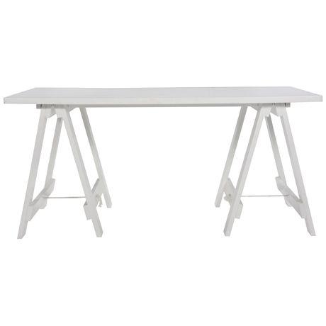 10 best ideas about trestle desk on pinterest bureaus desk styling and white desks. Black Bedroom Furniture Sets. Home Design Ideas