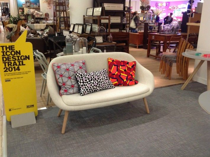 Hay mini market in selfridges london een foto reportage picture new about a lounge sofa for - Sofa hedendaagse ...