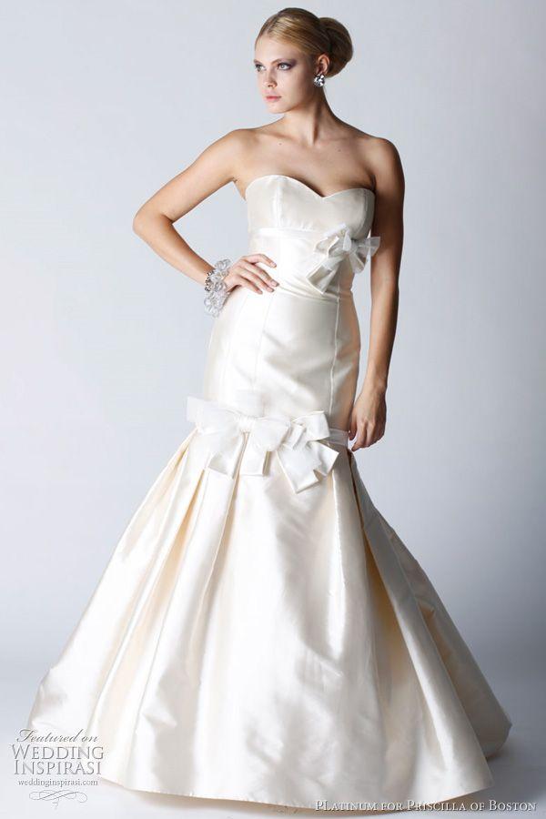 Platinum for Priscilla of Boston Fall 2011 Wedding Dresses   Wedding Inspirasi