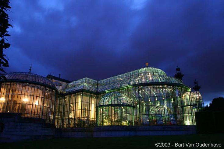 királyi üvegház Belgium