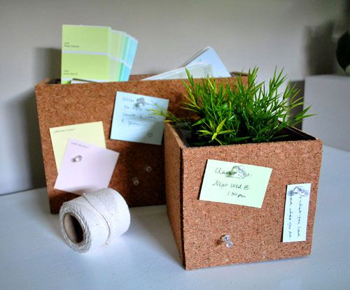 cork it... very cool for office: Office, Cork Vase, Diy'S, Cork Boards, Crafts Reuse Ideas, Corks, Cork Ideas, Craft Ideas