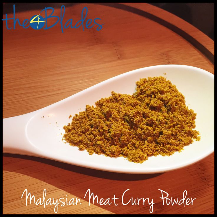 Malaysian Meat Curry Powder Thermomix