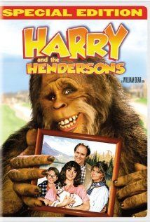 """Harry and the Hendersons (1987). I rate this 8.5/10. Family comedy with great costuming, a funny and touching script, and talented acting by John Lithgow and Melinda Dillon (who also played the mom in """"A Christmas Story)."""