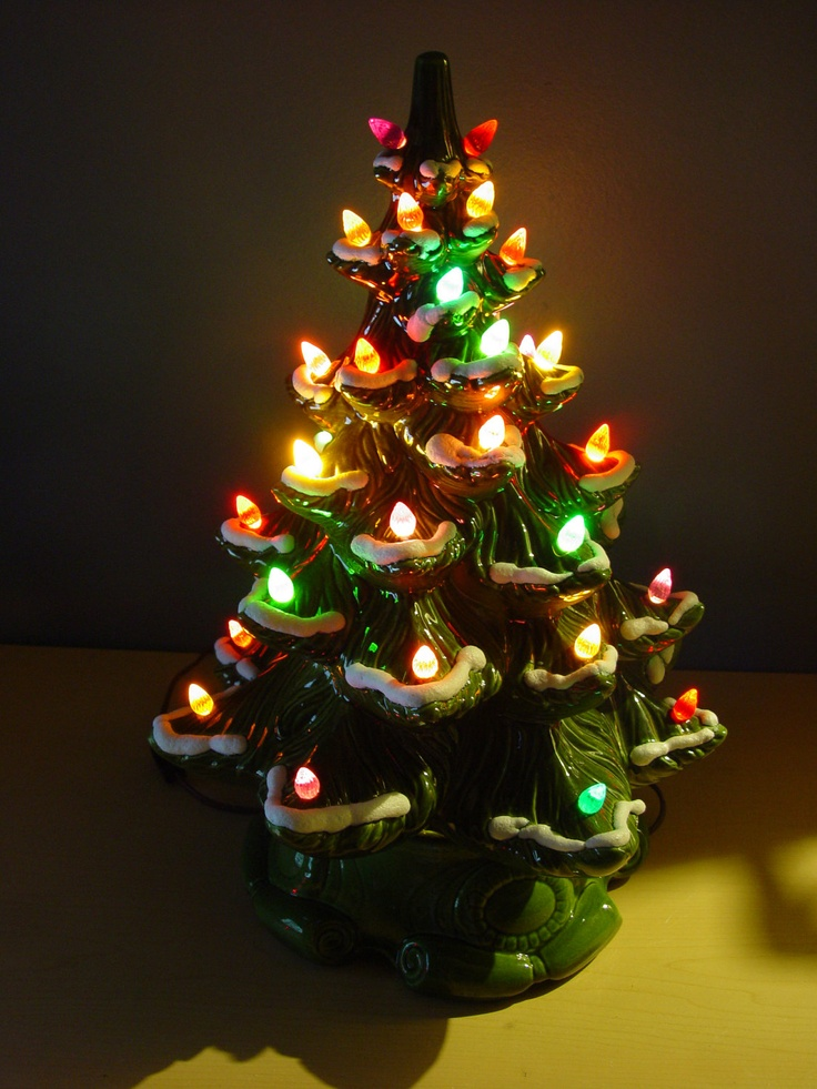 Ceramic Lighted Christmas Trees