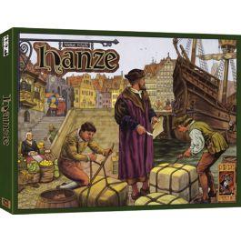 hanze (999 games) uitverkocht bij 999 games maar mss nog elders verkrijgbaar, vb bij spelgezel in Gent, of anders tweedehands maar volledig