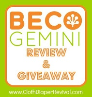The Cloth Diaper Revival: Snug as a Bug Hop: Beco Gemini Baby Carrier Review & Giveaway