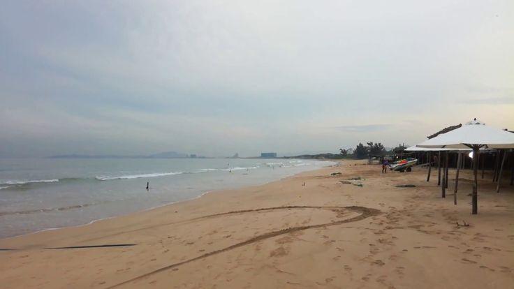 Evening Bai Dai beach in October Beautiful Bai Dai beach in October. Bai Dai or Long Beach is 19 km from the outskirts of Nha Trang, along the relatively new road that cuts through the coastal mountains to the Cam Ranh Airport.  #beach #vietnam #Nhatrang #Asia #Travel #nhatrang