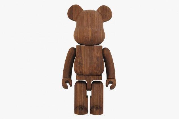 Karimoku x Medicom Toy Wooden Bearbrick Collection 2013