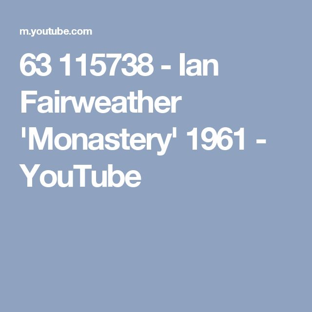 63 115738 - Ian Fairweather 'Monastery'  1961 - YouTube