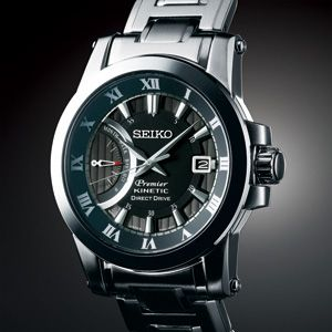 Seiko Premier for Men Kinetic Direct Drive 5D22 SRG009P1