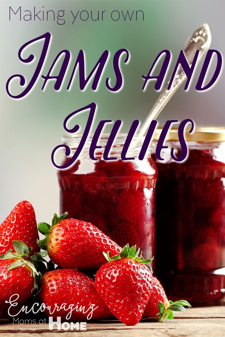 Making your own Jam and Jelly