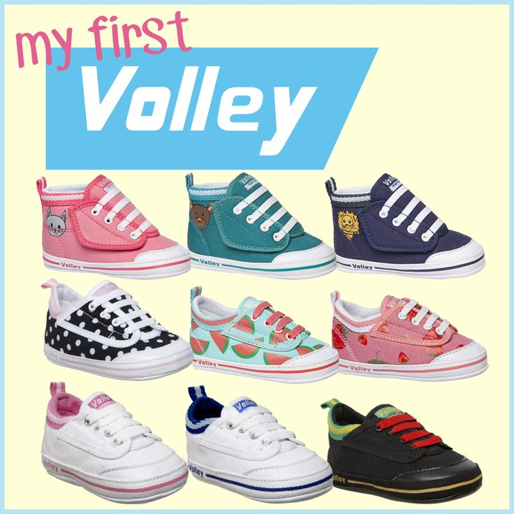 Baby Dunlop Volleys! They make a great gift and they're so cute!