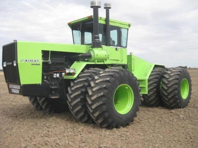 Large 4 Wheel Drive Tractors : Steiger tiger four wheel drive steigers pinterest