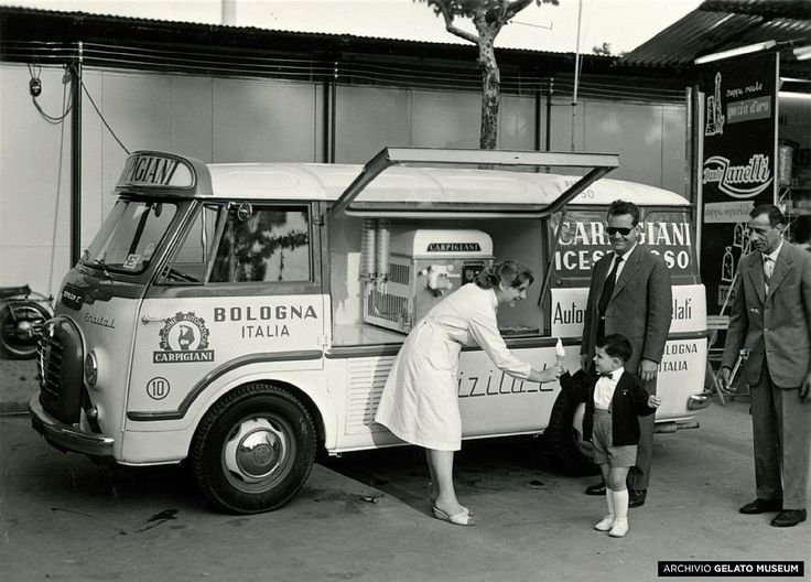 The humble beginnings of gelato in Bologna, Italy   (Photo by Gelato Museum - Caprigiani) #gelato