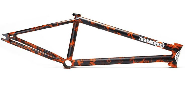 Cult - 2017 Dakota Roche Signature Dak Frame    Details: http://bmxunion.com/daily/cult-2017-dak-frame/  #BMX #patina #cult #cultcrew #bicycle #bike #style #paint #2017