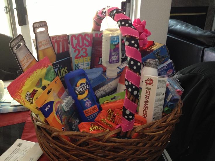 Wedding Gift Honeymoon Basket : Honeymoon basket!