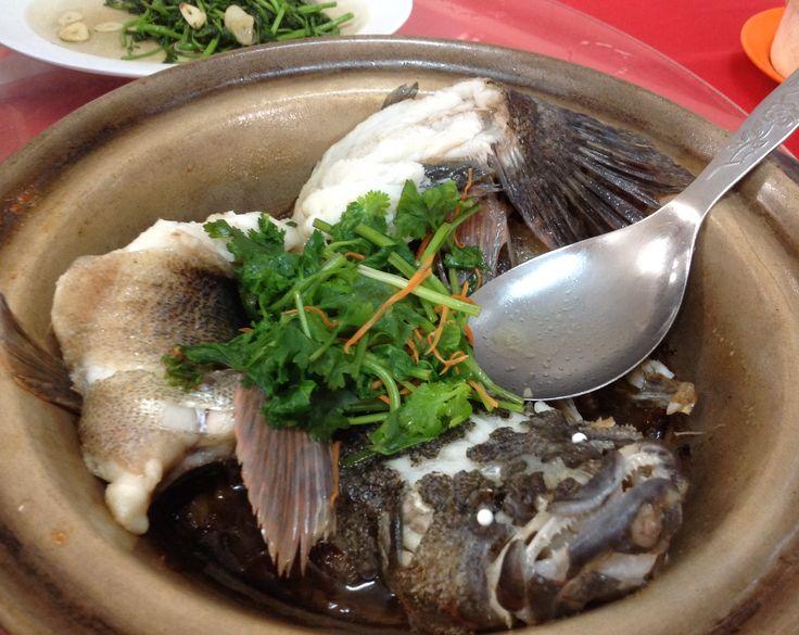 Steamed Soon Hock Fish @ Restoran Grand View @ Bukit Tinggi