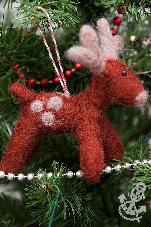 Best 25+ Needle felted ornaments ideas on Pinterest | Christmas ...