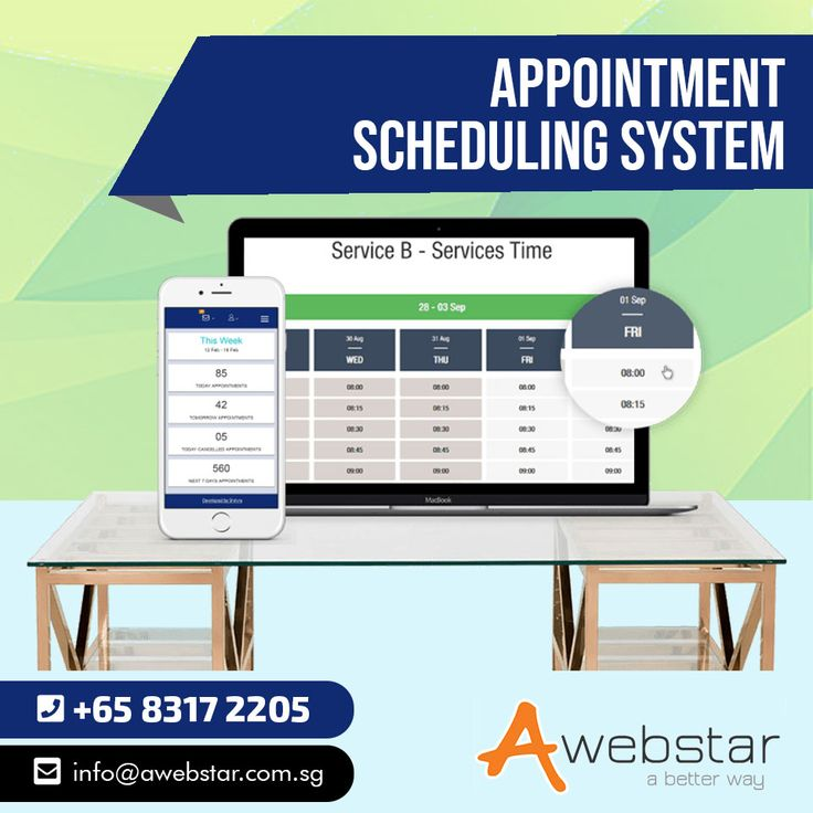 Appointment Scheduling Software Scheduling software