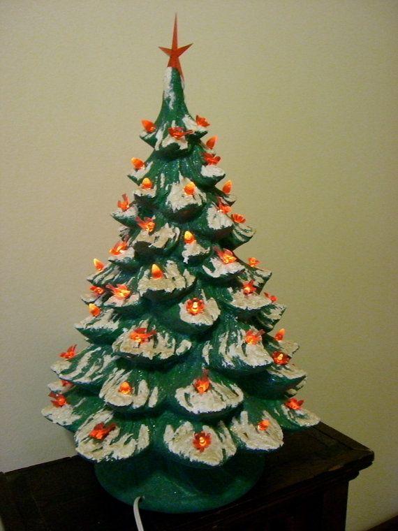 177 Best Ceramic Christmas Trees Images On Pinterest