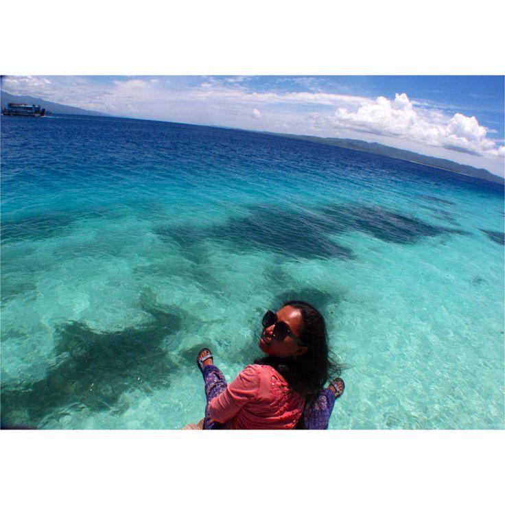 Liang Beach, Ambon, Mollucas, Indonesia