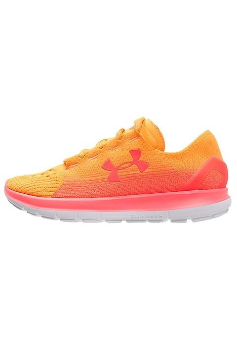 Under Armour SPEEDFORM SLINGRIDE - Chaussures de running neutres - glow orange - ZALANDO.FR