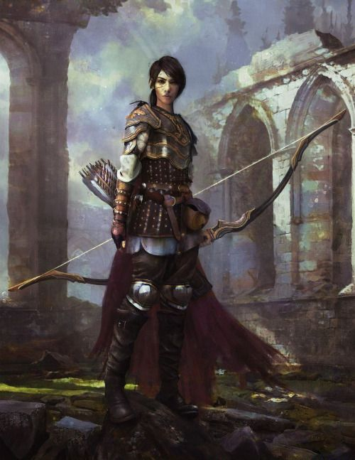 "foxy-nerdy: "" Royal Guard, Nikita Martianov.(X-post /r/imaginaryArchers) """
