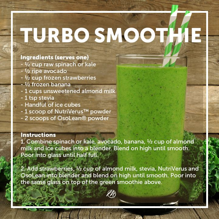 Get creative in the kitchen with this delicious Smoothie!  As an added bonus when you order OsoLean® in BP2  to use in your Turbo Smoothie you'll receive 30% loyalty credits PLUS additional NuFlavour Free.  Enjoy!  #greensmoothie #recipe #mannatechaustralasia