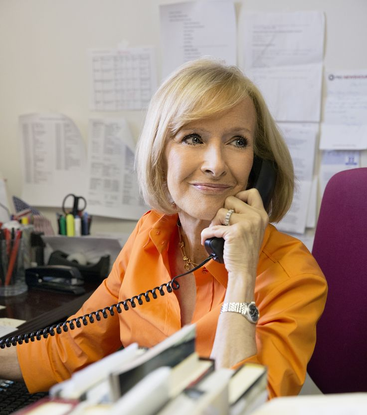 Judy Woodruff of the PBS News Hour