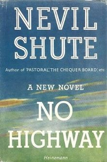 No Highway by Neville Shute - a great story about aeroplane engineers set in the 1930s. Very enjoyable read