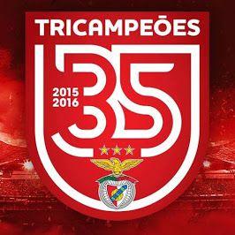 SPort Lisboa e Benfica - TRICAMPEÕES