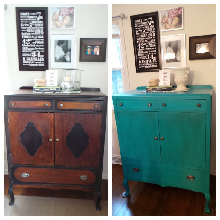 Sherwin Williams Worn Turquoise: 104 Best Redone Furniture Images On Pinterest
