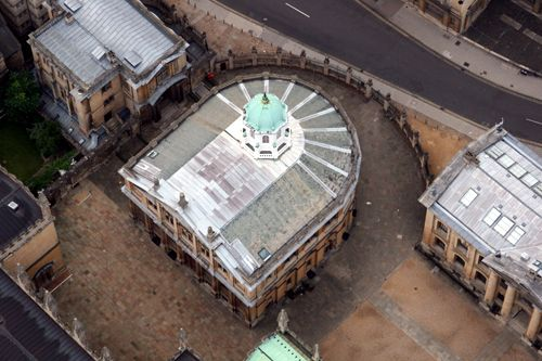 sheldonian theater   (hot air balloon trip)