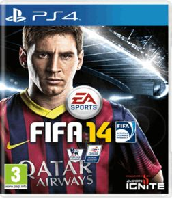 FIFA 14 PlayStation 4 Cover Art