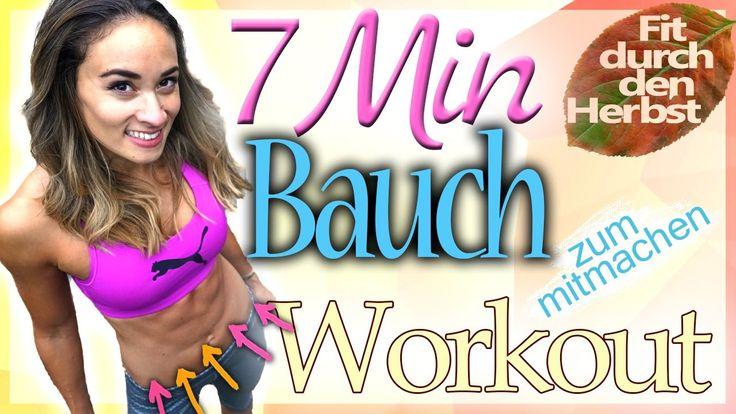 Bauch Workout - Bauchfett schnell verlieren - Sixpack Übungen in 7 Minuten